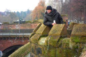 Nómada en las Murallas de Chester