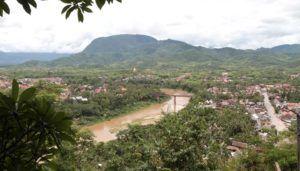 Vistas desde That Chomsi, Luang Prabang