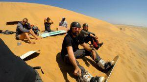 Preparándonos para el Sandboarding