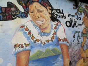 Graffitis de San Marcos de la Laguna, Guatemala