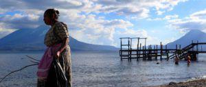 Embarcadero del lago Atitlan, Guatemala
