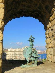 Castel dell´ovo, Nápoles