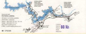 Itinerarios que recorrer en los Lagos de Plitvice
