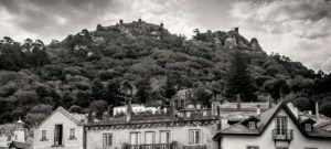 Castelo dos Mouros o Castillo de los Moros em Sintra, Portugal