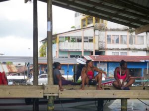 Muelle de Rio Dulce, Guatemala
