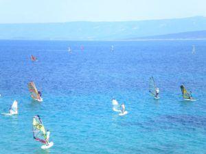 Playa Cuerno de Oro de la Isla de Brac, Croacia