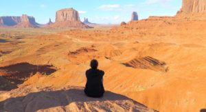 Nómada en el Monument Valley, EEUU