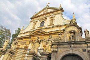 Iglesia de San Andres y San Pablo, Cracovia