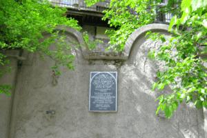 Murallas que rodearon el gueto de Cracovia