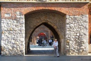 Puerta Florian, Cracovia