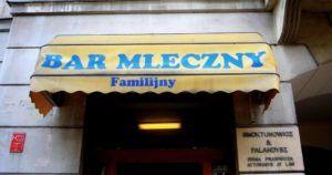 Comer en Cracovia, los bares de leche o mleczny