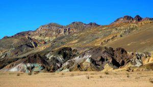 Artist`s Drive, Death Valley