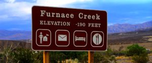Furnace Creek, asentamiento indio cerca del Death Valley