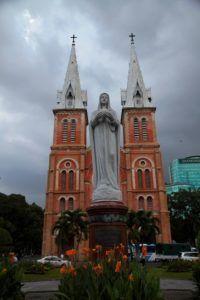 Catedral de Notre Dame de Ciudad Ho Chi Minh