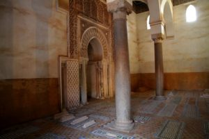 Tumbas Saadies de Marrakech, Marruecos