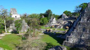 La Gran Plaza de Tikal, Guatemala