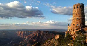 Torre de Vigilancia en el Gran Cañon del Colorado, EEUU