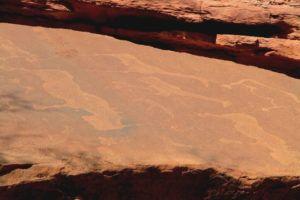 Los petroglifos de Twyfelfontein, Namibia