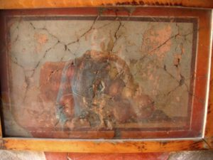 Fresco en Herculano, Nápoles