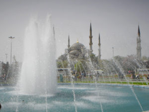 Plaza de Sultanahmet Estambul (Turquía)