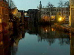 Gante, canales Korenlei y Graslei