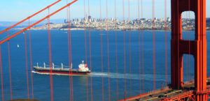 San Francisco, Golden Gate desde el mirador Battery Spencer