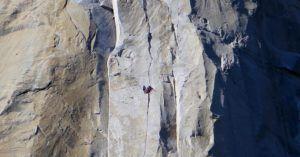Escaladores en el Capitán, Yosemite, EEUU