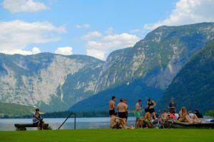 El lago de Hallstatt