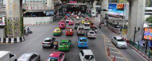 Bangkok y su tráfico agobiante