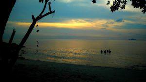 Pulau Kecil, islas Perhentian, Malasia