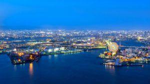 Bahía de Osaka, Japón