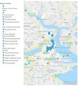 Ruta Freedom Trail de Boston, qué ver y qué visitar