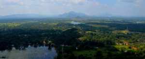 Vistas desde Sigiriya, Sri Lanka