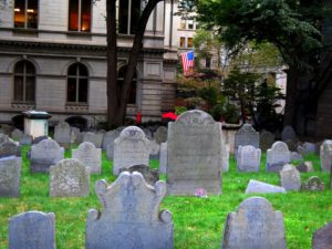 Old Granary Burying Ground, Boston