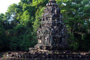 Preah Neak Poan, Angkor, Camboya