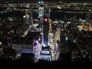 Vistas desde el Empire State Building, New York
