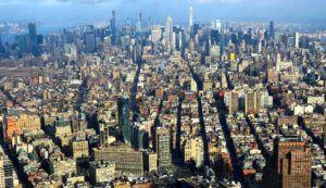Vistas desde el One World Trade Observatory, New York