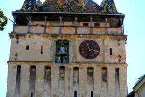 La Torre del Reloj, Sighisoara, Rumanía