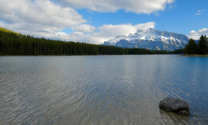 Two Jacks Lake, Parque Nacional de Banff, Canadá