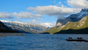 Minnewanka Lake, Parque Nacional de Banff, Canadá