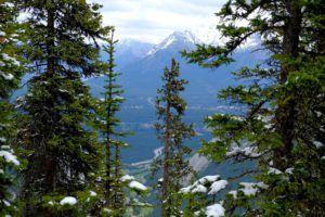 Gondola Banff, Alberta, Canadá