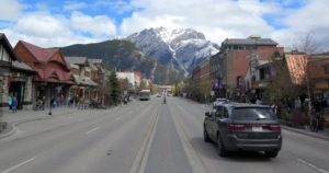 Pueblo de Banff, Canadá