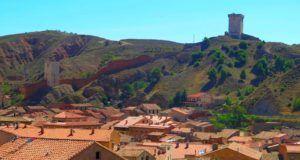 Vista de las murallas de Daroca