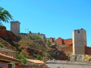 Parte de las murallas de Daroca