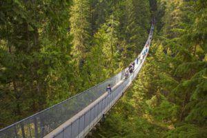 Capilano Bridge, el puente colgante de Vancouver