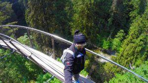 Capilano Suspension Bridge, Vancouver, Canadá