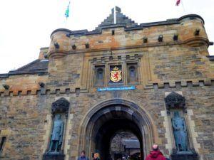 Castillo de Edimburgo, Escocia