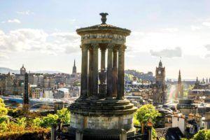Vistas de Edimburgo, Escocia
