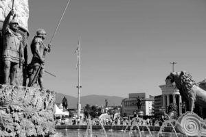Plaza de Macedonia, Skopie