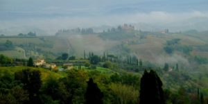 Vistas desde San Gimignano